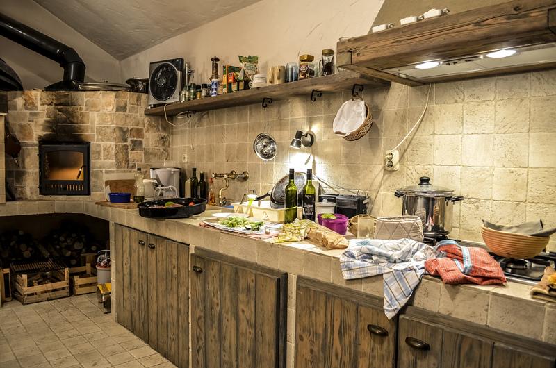 ... Rustikale Sommerküche   Luxusvilla Toskanische Perle, ...