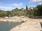 A view of the villa Dionysus from the pier