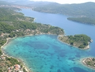 Gradina bay from above