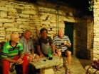 Apartments by the sea, Korcula - have a dinner in the authentic stone restaurant by fisherman Tonci with local people.