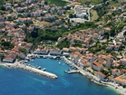 The city Sutivan, only 6 km from harbour Supetar (50 min with ferryboat from Split)