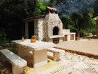 Enjoy the family get-together at the big table with delicious BBQ meal - Istrian Vacation Rentals Villa