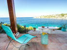 Apartments by the sea, Korcula - fairytale view from the terrace of app 1.