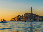 Sunset in Rovinj.