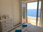 Exit to the terrace from the double bedroom -  apartment by the sea, Croatia