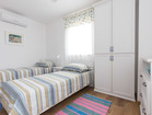 Rustical villa Sole - third bedroom with two single beds
